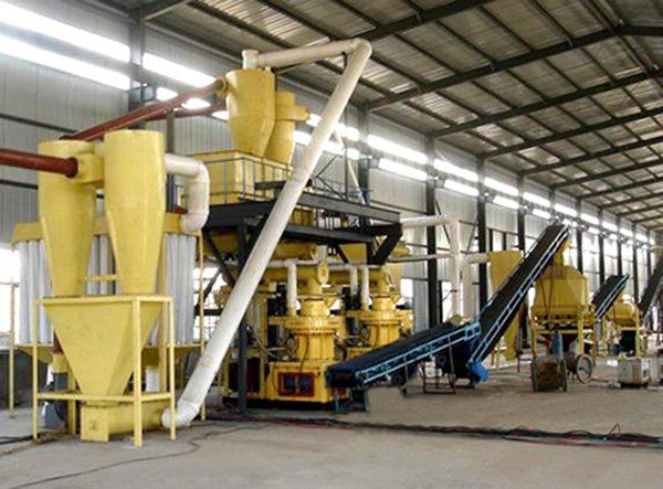 straw pellet mill
